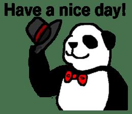 Nice Panda Guy (English Ver.) sticker #2069092