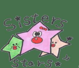funny stars sticker #2070173