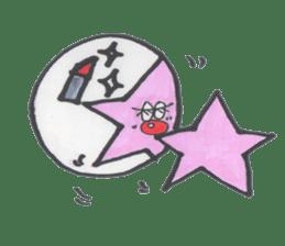 funny stars sticker #2070175
