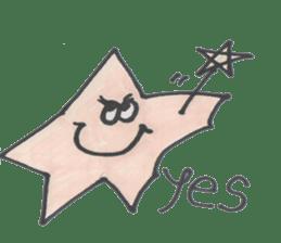 funny stars sticker #2070177