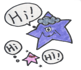funny stars sticker #2070188