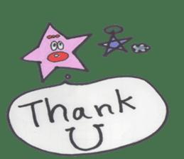 funny stars sticker #2070191