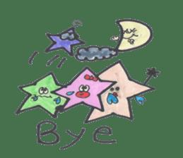 funny stars sticker #2070196