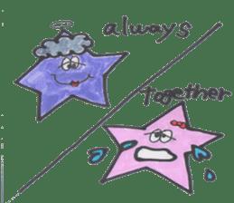 funny stars sticker #2070197