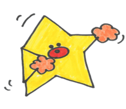 funny stars sticker #2070210