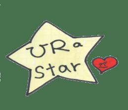 funny stars sticker #2070212