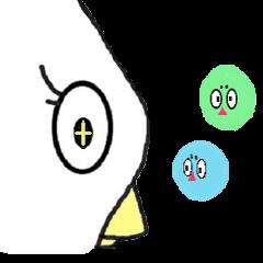 Bird and E-caterpillar