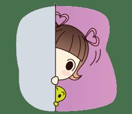 Naughty Naughty Girl 1 (English version) sticker #2070818