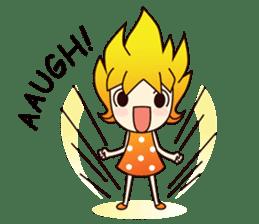 Naughty Naughty Girl 1 (English version) sticker #2070819