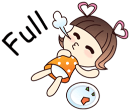 Naughty Naughty Girl 1 (English version) sticker #2070835