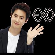 สติ๊กเกอร์ไลน์ EXO Special 3
