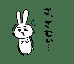 Yuruki-ra rabbit sticker #2074563