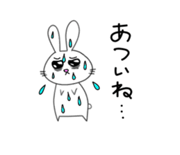 Yuruki-ra rabbit sticker #2074564