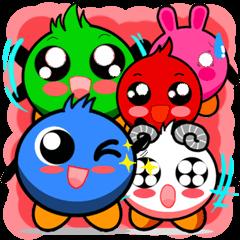 Boo Boo cute monsters :ViccVoon Studio