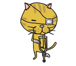 It is very lovely cat stamp. sticker #2077629