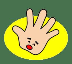 HAPPY HANDS sticker #2078213