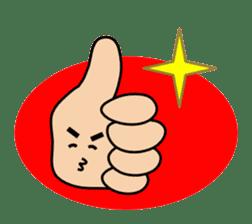 HAPPY HANDS sticker #2078220