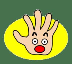 HAPPY HANDS sticker #2078223
