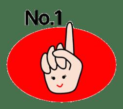 HAPPY HANDS sticker #2078237
