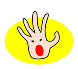 HAPPY HANDS sticker #2078239