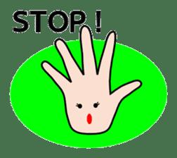 HAPPY HANDS sticker #2078241