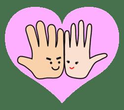 HAPPY HANDS sticker #2078251