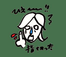 Mrs.Tomoko sticker #2078381