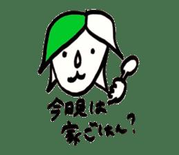 Mrs.Tomoko sticker #2078383