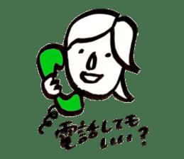 Mrs.Tomoko sticker #2078388