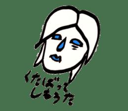 Mrs.Tomoko sticker #2078396
