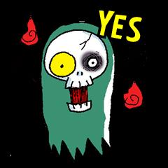 Pee Friendly ghost