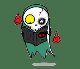 Pee Friendly ghost sticker #2079513