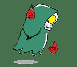 Pee Friendly ghost sticker #2079520
