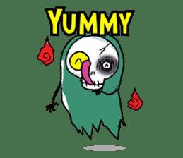 Pee Friendly ghost sticker #2079527