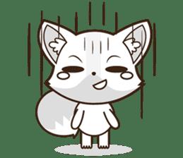 Foxy, cute little fox sticker #2079864