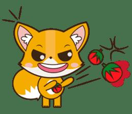 Foxy, cute little fox sticker #2079887