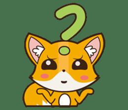 Foxy, cute little fox sticker #2079890