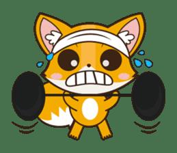 Foxy, cute little fox sticker #2079899