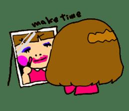 Japanese girl kids sticker #2079984