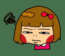 Japanese girl kids sticker #2079994