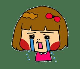 Japanese girl kids sticker #2079995