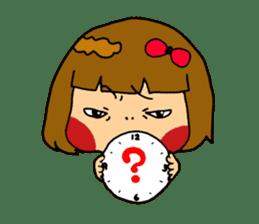 Japanese girl kids sticker #2080007