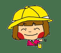 Japanese girl kids sticker #2080008
