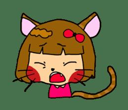 Japanese girl kids sticker #2080013