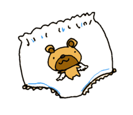 Japanese girl kids sticker #2080020