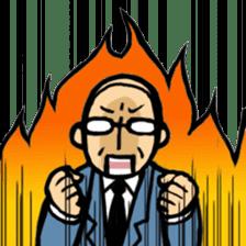 Manga Japanese businessman sticker #2080512