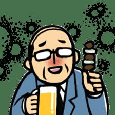 Manga Japanese businessman sticker #2080520