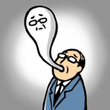 Manga Japanese businessman sticker #2080524