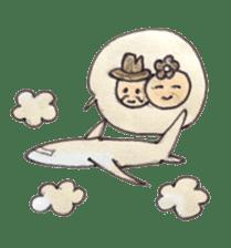 Happy days of Kemuko & Kemuo sticker #2081531