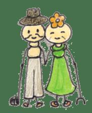 Happy days of Kemuko & Kemuo sticker #2081535